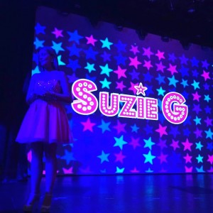 Suzie G performing on the Carnival Spirit March 2016